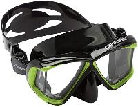 cressi 4 window snorkel mask