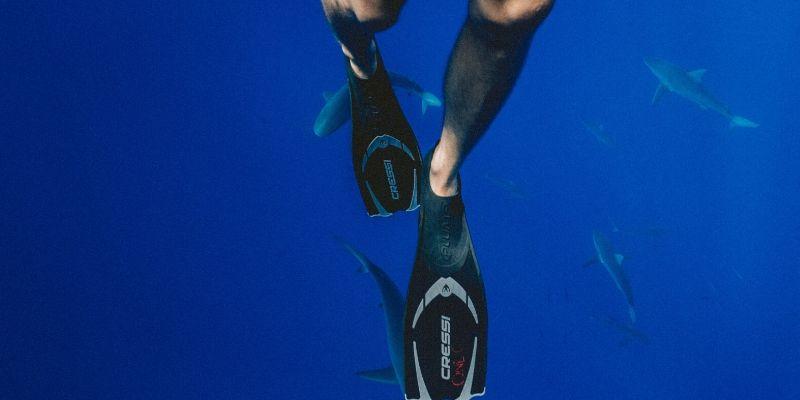 cressi pluma snorkel fins