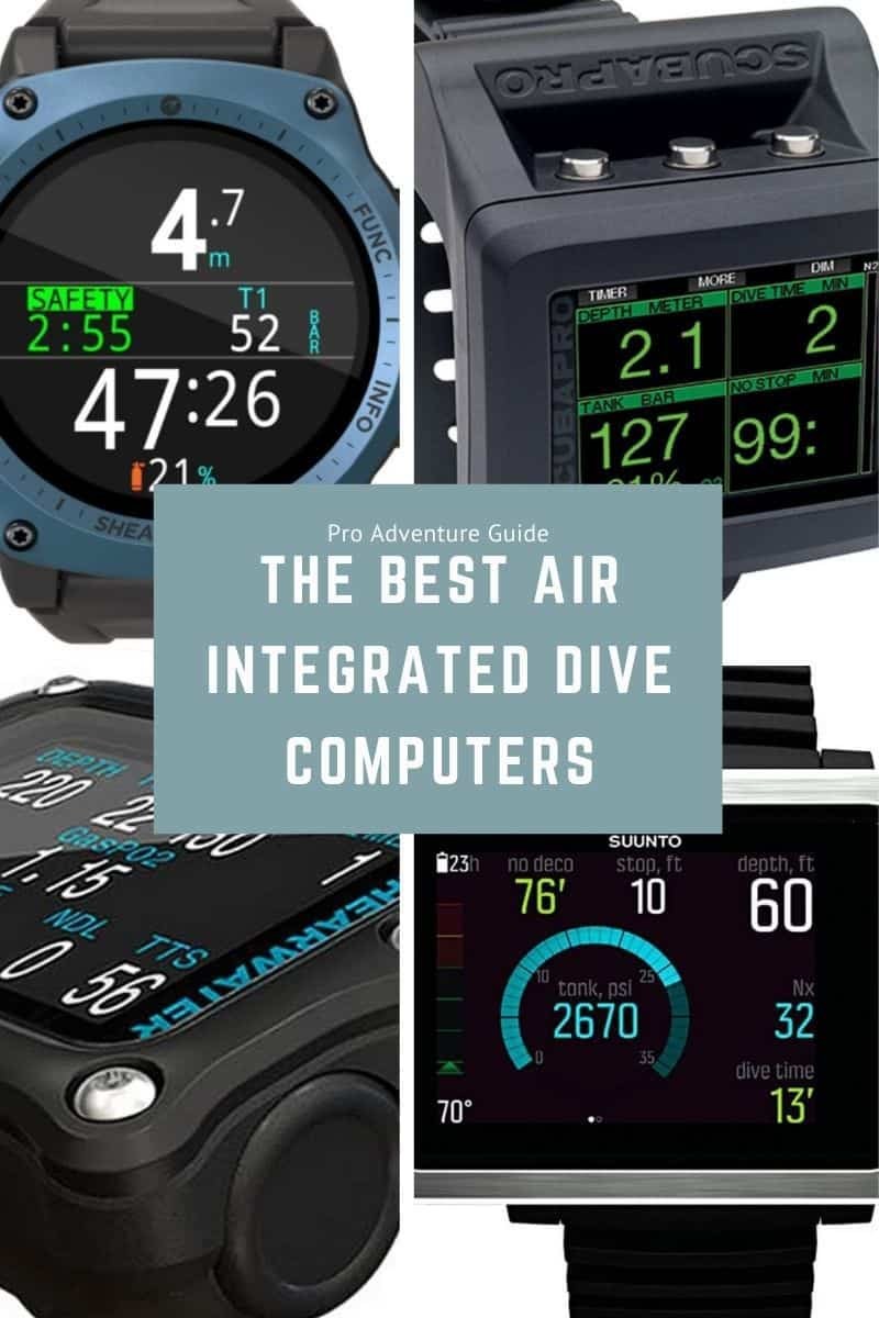 BEST AIR INTEGRATED DIVE COMPUTERS