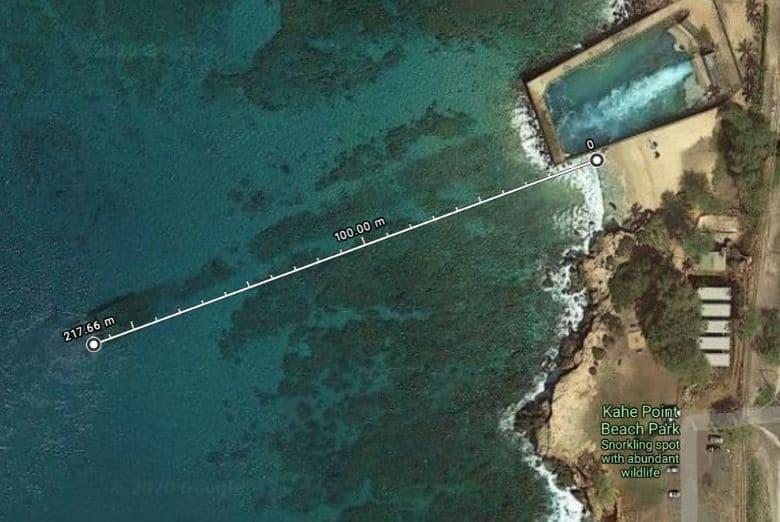 snorkeling electric beach hawaii