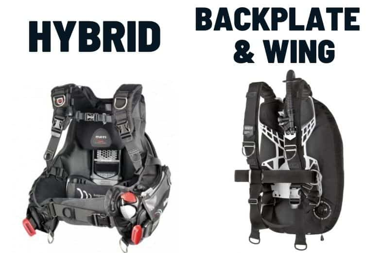 hybrid vs backplate and wing bcd