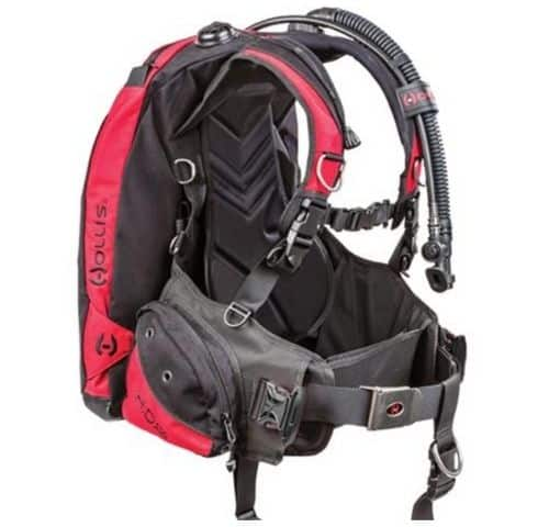 best back inflate bcd
