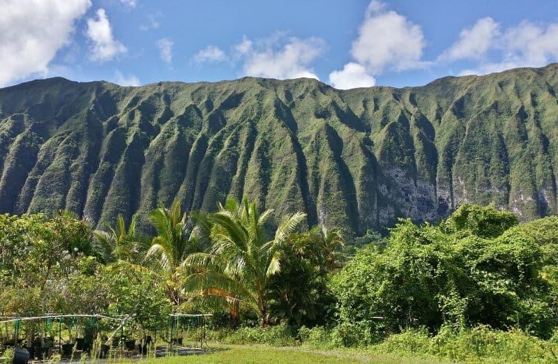 Ko'olau mountains oahu