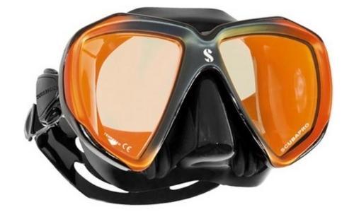 scubapro spectra mirrored lens dive mask