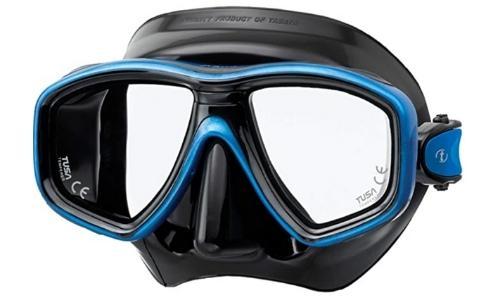 tusa ceos scuba diving mask