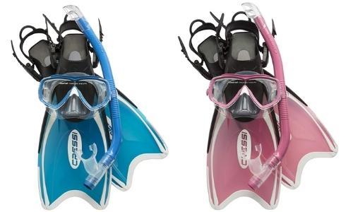 cressi mini palau kids snorkel set