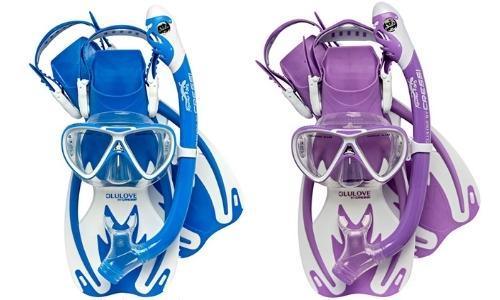 cressi rocks pro dry kids snorkel gear